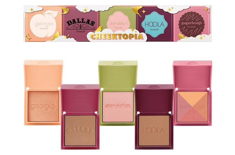 Benefit Cheektopia Blushers & Matte Bronzer Minis Gift Set