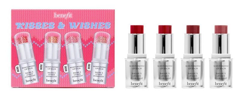 Benefit Kisses & Wishes Moisturising Pigmented Lip Balm Gift Set