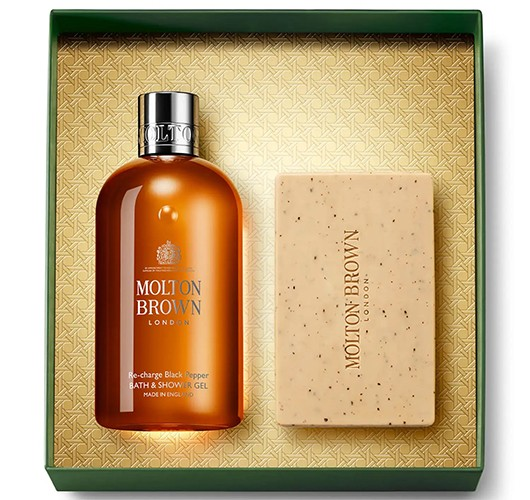 Molton Brown Re-Charge Black Pepper Body Care Gift Set