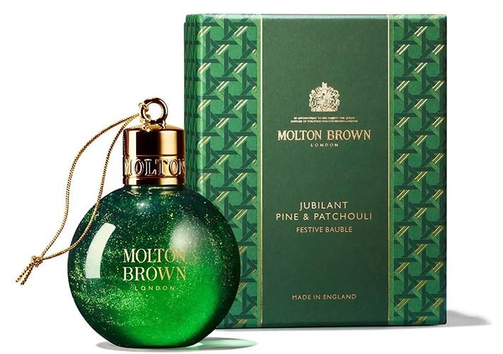 Molton Brown Jubilant Pine and Patchouli Festive Bauble
