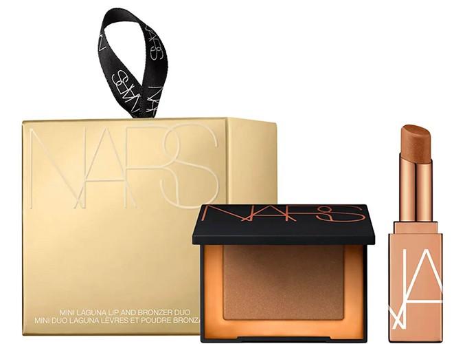 NARS Exclusive Mini Laguna Lip And Bronzer Duo