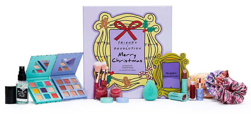 Makeup Revolution X Friends 12 Days of Christmas Advent Calendar
