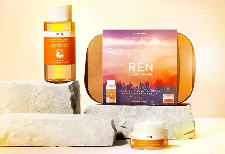 REN Clean Skincare All is Bright Set